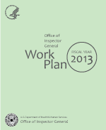 FY 2013 Work Plan Cover