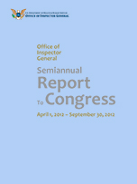 Cover of the Fall 2012 Semiannual Report