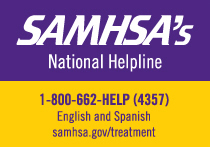 SAMHSA National Helpline 1-800-662-HELP