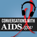 Logo for Conversations with AIDS.gov