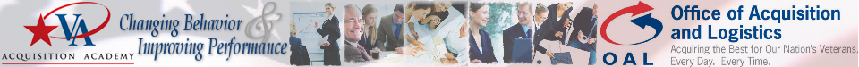 VA Acquisition Academy - Developing Trusted Business Advisors