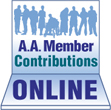 A.A. Member Contributions Online