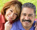 A healthy mature Latino couple