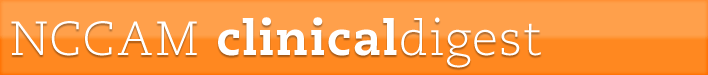 NCCAM Clinical Digest