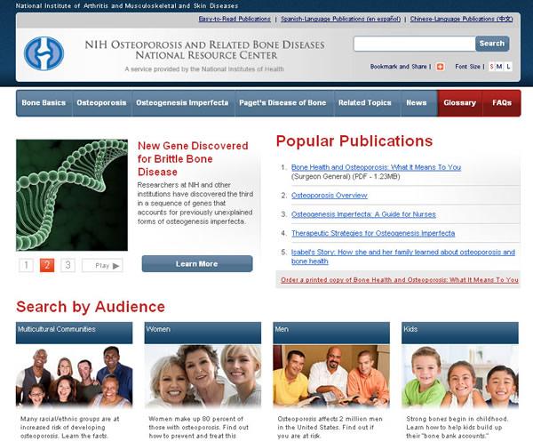 Bone Resource Center Web Site