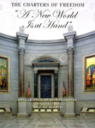 """Book cover: Charters of Freedom: """"A New World is at Hand"""""""