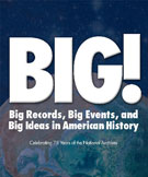 Book cover: BIG! Exhibit Catalog