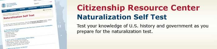 Naturalization Self Test