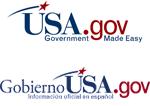 This is an image of the USA.gov and GobiernoUSA.gov logos.