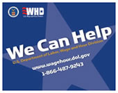 We Can Help - Department of Labor