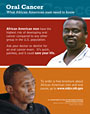 Oral Cancer: What African American Men Need to Know (small poster)