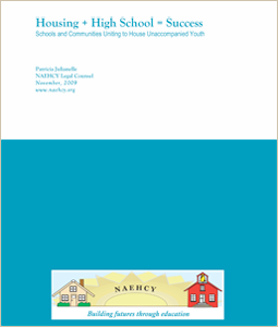 Image of report cover, Housing + High School = Success.