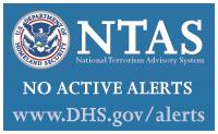 National Terrorism Advisory System (NTAS) check current status