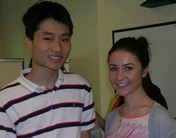 Male and female 2012 Summer Dental Student Awardees