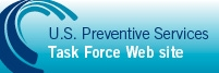 U.S. Preventive Services Task Force logo and link