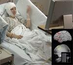 Brain surgery patient