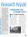 Picture of NIDA Research Report Series: Therapeutic Community