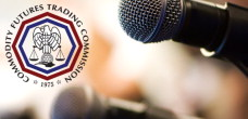 Microphone with CFTC logo