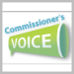 Logo for Commissioner's Voice