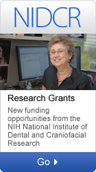 NIDCR: Research Grants-New funding opportunities from the NIH National Institute of Dental and Craniofacial Research