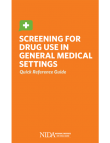 Picture of Screening for Drug Use in Medical Settings: Quick Reference Guide