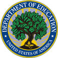 Seal of the United States Department of Education .