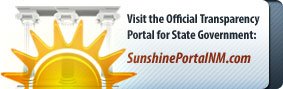 Click here to visit the official transparency portal for the state of New Mexico - SunshinePortalNM.com