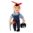 N-20-1020 - Rosie the Riveter Doll