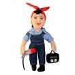 N-20-1020 - Rosie the Riveter Doll