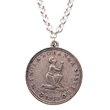 N-17-1098 - Am I Not a Woman and a Sister Pewter Necklace