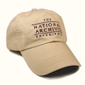 F-17-2876 - National Archives Baseball Cap (Khaki)