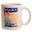 N-07-111 - Rosie the Riveter Mug