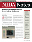 Picture of NIDA Notes Vol. 22, No. 5: Computer-Based Interventions Promote Drug Abstinence