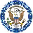 US Interagency Council on Homeless logo with bal eagle inside circle