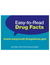 Picture of Easy-to-Read Drug Facts