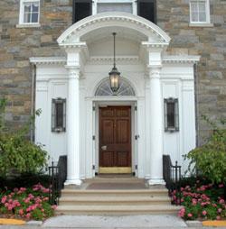 Stone House front door