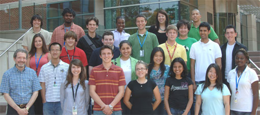 Career Development Section - Summer Students group photo.