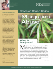 Picture of NIDA Research Report Series: Marijuana