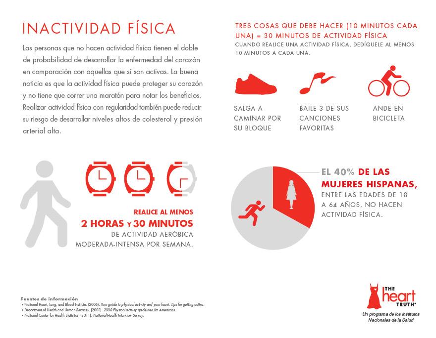 Los que no hacen actividad física tienen el doble de probabilidad de desarrollar la enfermedad del corazón.