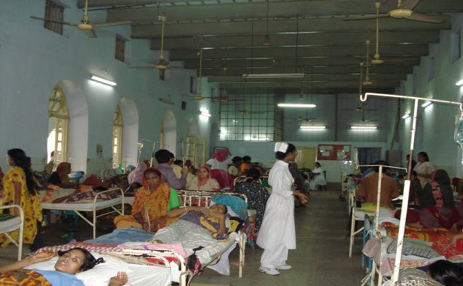 Breast cancer treatment facility in a low income country