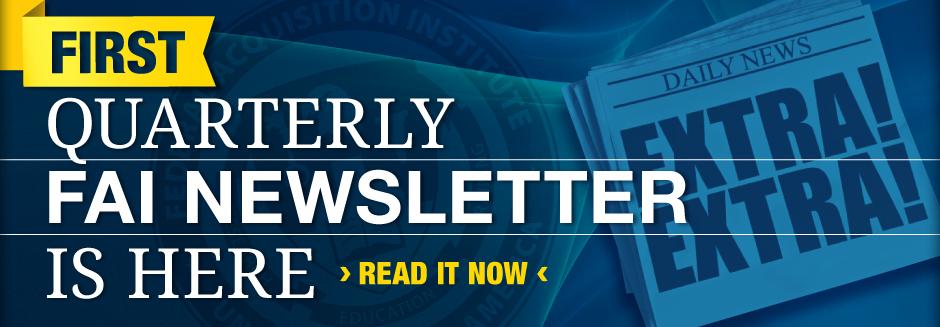 FAI Newsletter