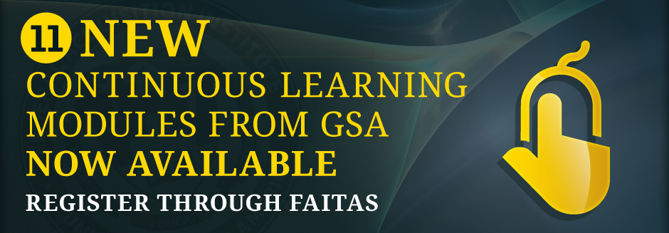 GSA Continuous Learning Modules