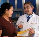 Olveen Carrasquillo and patient