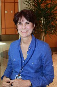 Bobette Morgan, NEI clinical trial participant