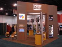 NCI exhibit booth