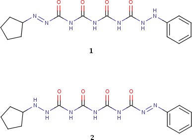 Example of 1,11-tautomeric form