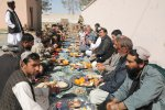 Local leaders in Afghan district meet each other, their future