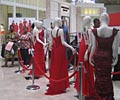 The Red Dress display at The Heart Truth Road Show in Atlanta, GA.