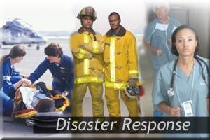 image of first responders - firemen, EMTs, nurses