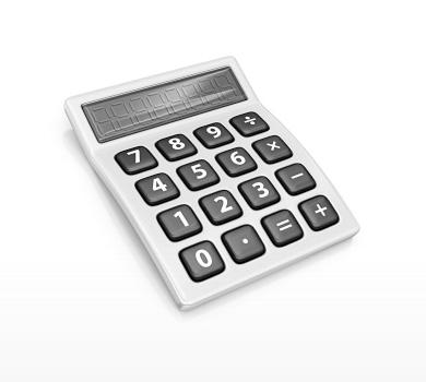 Image of a calculator